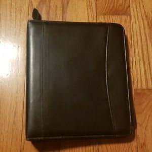 Franklin Covey leather planner